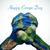 szöveg · föld · napja · férfi · kezek · világtérkép · fiatalember - stock fotó © nito