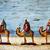 három · bölcs · férfiak · tevék · illusztráció · nő - stock fotó © nito