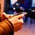 fiatalember · telefon · gépel · mobiltelefon · otthon · férfi - stock fotó © nito