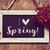 i love spring in a chalkboard stock photo © nito