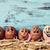 ovos · prato · rústico · mesa · de · madeira · páscoa - foto stock © nito