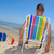 sandálias · verão · praia · azul · arenoso - foto stock © nito