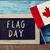 文字 · カナダ · 日 · フラグ · 書かれた · 黒板 - ストックフォト © nito