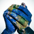 the world in your hands (Earth map furnished by NASA) stock photo © nito