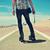 молодым · человеком · катание · ног · молодые · кавказский - Сток-фото © nito