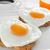 coração · ovo · brinde · cozinhado · comida - foto stock © nito