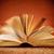 vieux · livre · rapide · papier · éducation · blanche - photo stock © nito