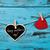 日 · メッセージ · 心 · 青 · 木板 - ストックフォト © nito