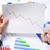 empresário · econômico · previsão · gráficos · computador · homem - foto stock © nito