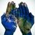 Мир · рук · земле · карта · Мир · карта · человека - Сток-фото © nito