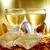 gafas · champán · tradicional · año · nuevo · beber · celebración - foto stock © nito
