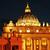 St · Peters · Basilica · noc · Rzym · Włochy · obraz · rzeki - zdjęcia stock © nito