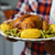 Turchia · patate · francese · fagioli · primo · piano · servito - foto d'archivio © nito
