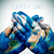 text earth day and man hands patterned with a world map furnish stock photo © nito