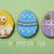 metin · iyi · paskalyalar · kurabiye · dekore · edilmiş · paskalya · yumurtası · atış - stok fotoğraf © nito