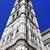 giottos campanile and basilica di santa maria del fiore in flore stock photo © nito
