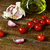 olive oil cherry tomatoes and garlic on a wooden table stock photo © nito