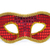 Geel · witte · carnaval · masker · Rood · top - stockfoto © nito
