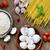 champignon · gombák · fa · asztal · öreg · csoport · élet - stock fotó © nito