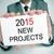 2015 · прогноз · слов · оказанный · 3D - Сток-фото © nito