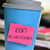 sticky note with text 2017 resolutions in a cup stock photo © nito