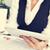 fincan · kahve · grafikler · kâğıt · kalem · beyaz - stok fotoğraf © nito