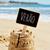 texto · adiós · verano · playa · primer · plano · negro - foto stock © nito