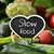 raw vegetables and text slow food stock photo © nito