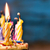 именинный · торт · свечей · красный · бархат · торт · деревенский - Сток-фото © nito