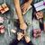 genç · kadın · adam · hediyeler · atış · genç - stok fotoğraf © nito