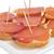 sandwiches with lomo embuchado spanish cured pork sirloin stock photo © nito