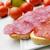 aperitivo · rabanete · verde · carne · jantar - foto stock © nito
