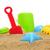 plaj · oyuncaklar · gökyüzü · arka · plan · kum - stok fotoğraf © nito
