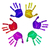 handprints of different colors stock photo © nito