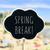 szöveg · tavasz · vakáció · közelkép · fekete · forma - stock fotó © nito