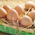 kahverengi · sarı · yumurta · Paskalya · bahar - stok fotoğraf © nito