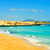 beach in natural park of dunes of corralejo in fuerteventura sp stock photo © nito