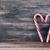 bonbons · forme · de · coeur · lumière · ruban · Noël · personne - photo stock © nito