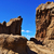 roque nublo monolith in gran canaria spain stock photo © nito