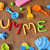 word summer made from modelling clay stock photo © nito