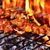 meat skewers in a barbecue stock photo © nito