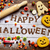 candies cookies and text happy halloween stock photo © nito