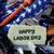 флаг · Соединенные · Штаты · день · окрашенный · щетка - Сток-фото © nito