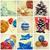 natal · colagem · coleção · nove · viver · fotos - foto stock © nito