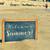 bem-vindo · escrito · praia · arenoso · praia · tropical · textura - foto stock © nito