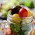 mason · kavanoz · salata · mısır · yeşil · bezelye - stok fotoğraf © nito