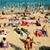 texto · quebrar · areia · praia · ver - foto stock © nito