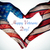 text happy veterans day and hands forming a heart with the flag stock photo © nito