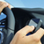 man using a smartphone while driving a car stock photo © nito