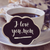 愛 · コーヒー · 心臓の形態 · コーヒー豆 · スプーン · カップ - ストックフォト © nito